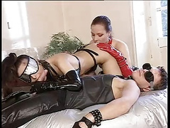 Perverser deutscher Latex Sex